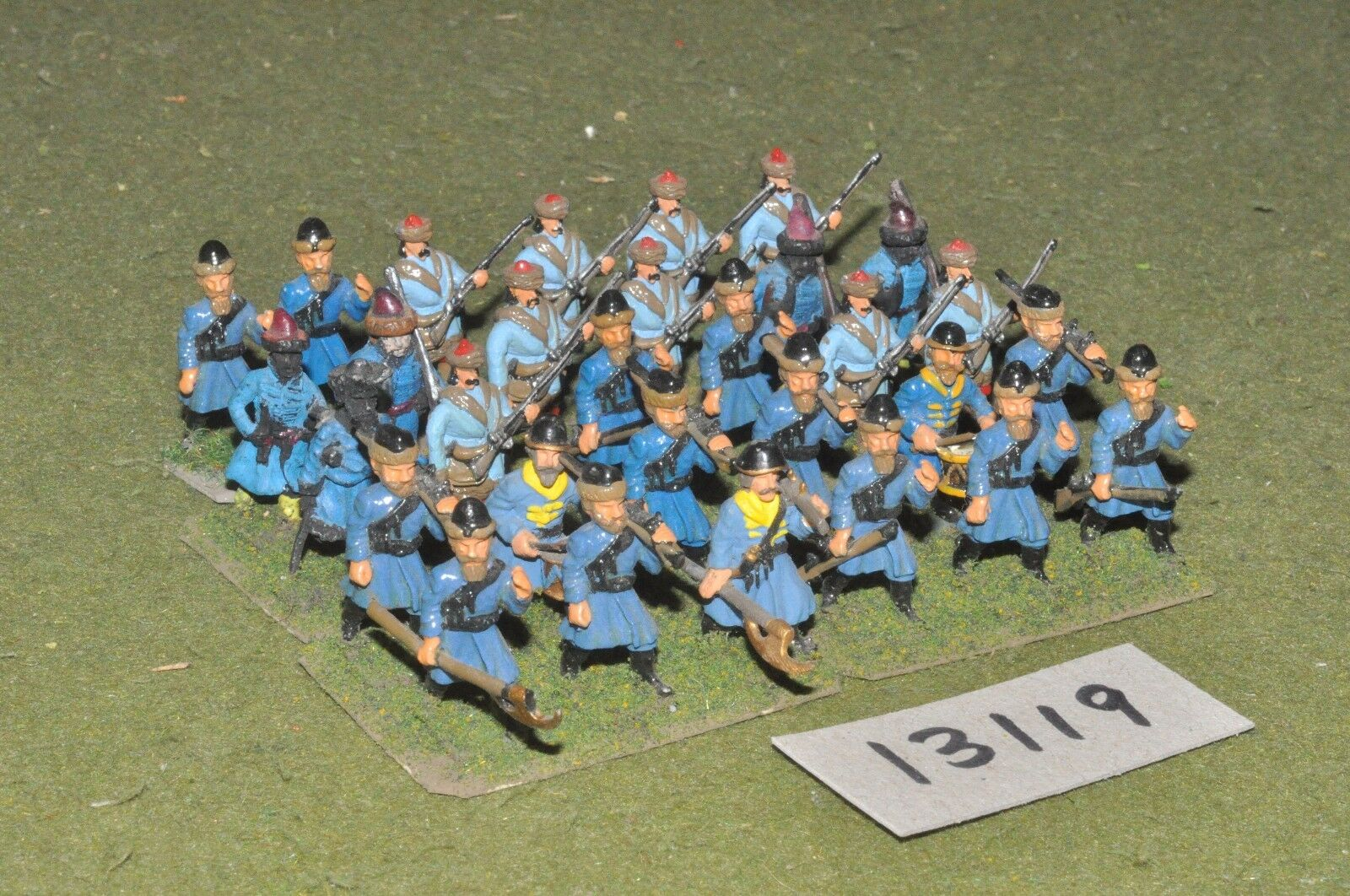 25mm renaissance   polish - infantry 30 figures - inf (13119)
