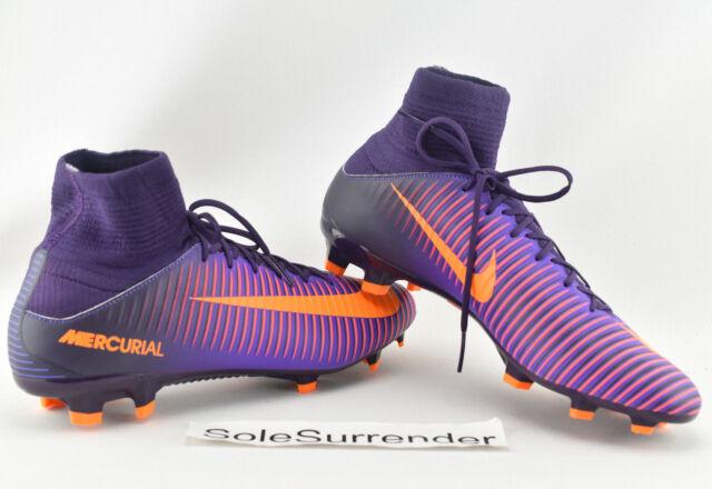 cirujano Refrescante ponerse nervioso  Nike Mercurial VELOCE III DF FG Purple Grape HYPER Sz 11 Soccer Cleat  831961 585 for sale online   eBay