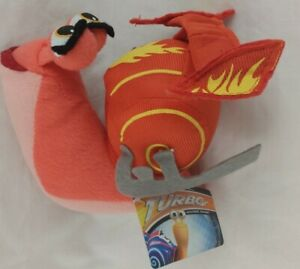"Dreamworks Turbo BURN THE GIRL SNAIL 5"" Plush STUFFED ..."