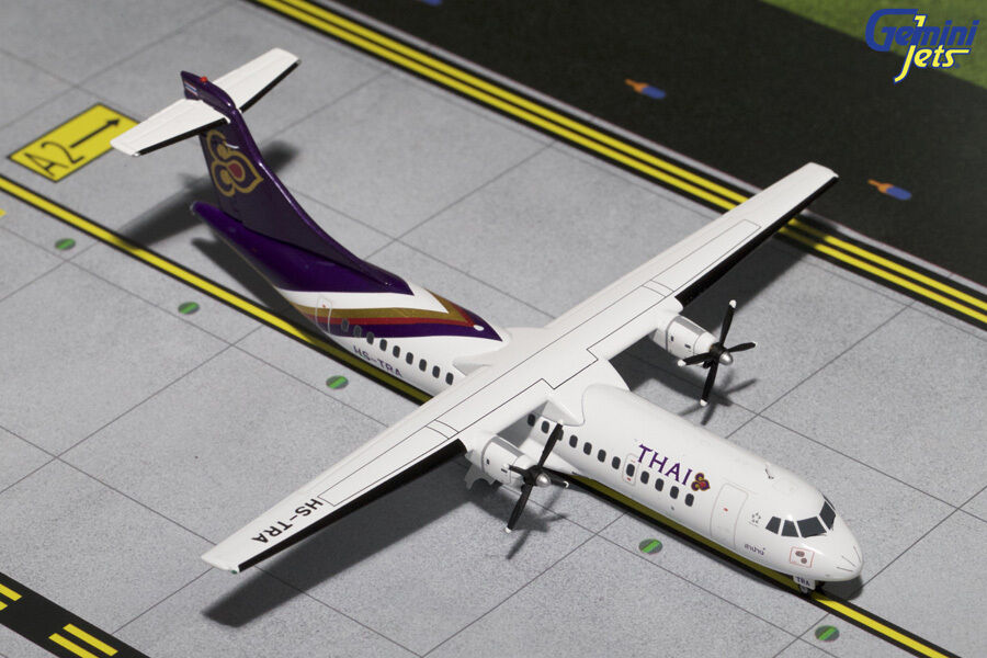GEMINI JETS THAI AIRWAYS ATR-72-200 1 200 DIECAST MODEL AIRPLANE G2THA597