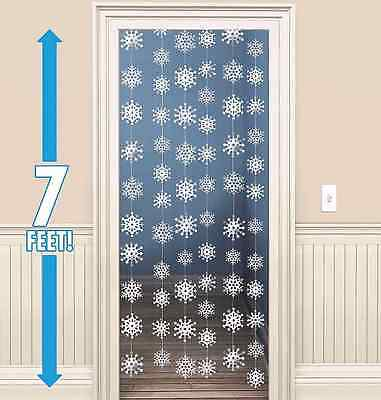 Snowflakes Hanging String Decorations ~ Winter /& Holiday Party Supplies Favors