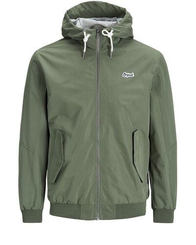 Jack /& Jones Originals Lightweight Jacket Mens Casual Logo Coat Jornew Harlow