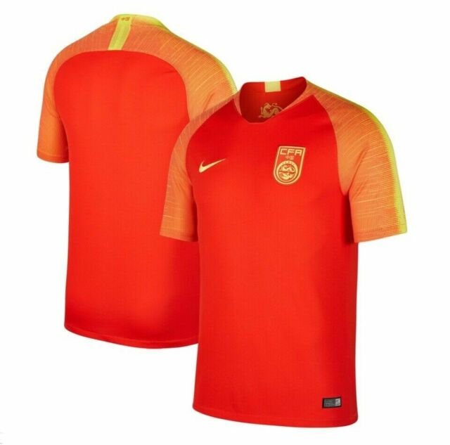 Nike 2018 China CFA Stadium Home Soccer Jersey Aq9241 634 Mens Size Small Red