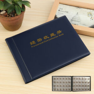 10 Pages Collecting Coins Storage Holder Money 250 Coin Penny Album Book Pockets