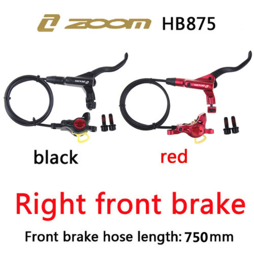 MTB Bicycle Hydraulic Disc Brakes Calipers Front&Rear BIke Set Oil Brake Lever