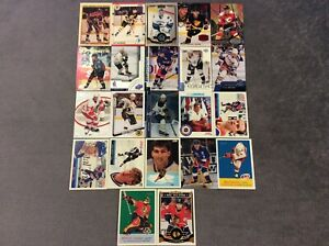 HALL-OF-FAME-Hockey-card-Lot-1990-2018-WAYNE-GRETZKY-JAROME-IGINLA-MATS-SUUNDIN