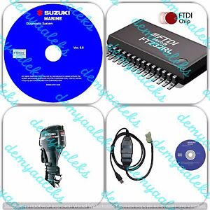 Details about Diagnostic kit for Suzuki SDS 8 2 Outboard Marine Boat