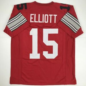 online store 538b6 7f92d Details about New EZEKIEL ELLIOTT Ohio State Red College Custom Stitched  Football Jersey XL