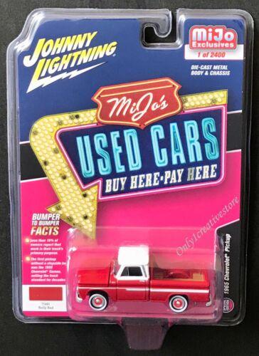 Choose Color Johnny Lightning 1965 Chevrolet Pickup 1:64 Diecast Car