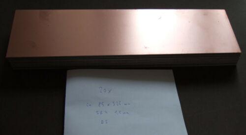 Kupferkaschiert Platine FR4 85 x 325 mm Double Sided Copper Circuit Board PCB
