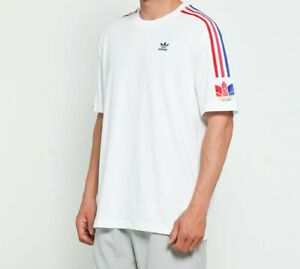 Details about Adidas ADICOLOR 3D Trefoil 3S Shirt T-Shirt Casual Tee Jersey Men's Small GE0837