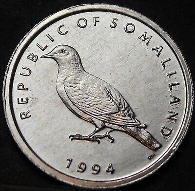 SOMALILAND 1 SHILLING 1994 UNC LOT 50 PCS 1//2 BAG BIRD