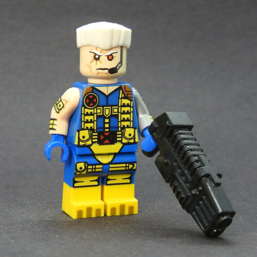 Custom minifigures Classic Cable with boots on lego brand bricks