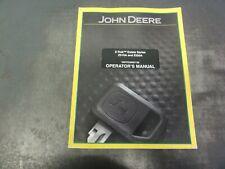 John Deere Z Trak Estate Series Z510a Z520a Tractors Operators Manual Omtcu26007