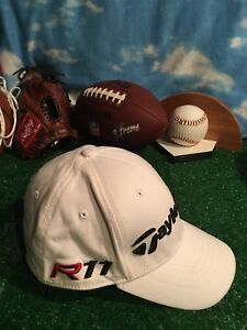 Taylor Made Taylormade R11 Burner Penta Fitted Hat - White - One ... 102a09131e2