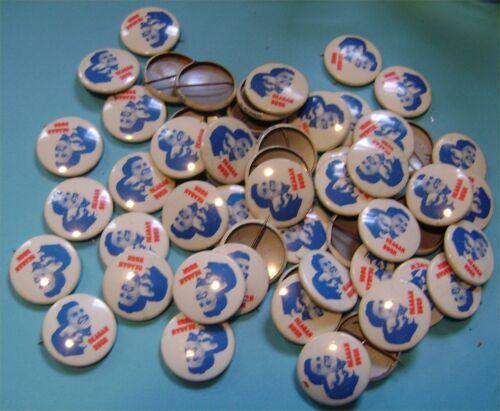 Lot of SIX REAGAN BUSH 1987 Political Pins SALE
