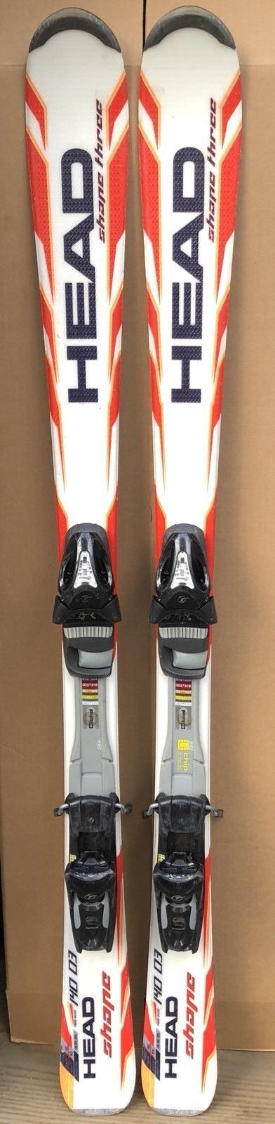 120 cm Head Shape skis bindings+ womens 5.5  or 6 ski boots (plus optional poles)  at the lowest price