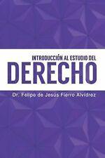 Introducción Al Estudio Del Derecho by Felipe Fierro (2014, Hardcover)