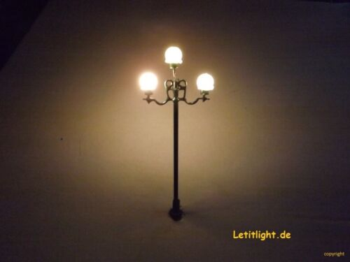 9 Stück Nr 7 Nostalgie Straßenleuchte mit LED Technik