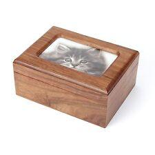 Pet Cremation Ashes Urn /  Ash Casket Solid Wood!!- UU540013A