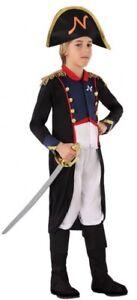 Soigneux Garçons Napoléon Amiral Marin Renaissance Costume Robe Fantaisie Tenue 3-12 Ans-afficher Le Titre D'origine Luxuriant In Design