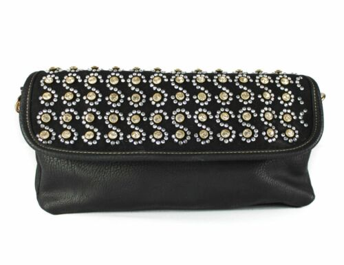 New UK Ladies Crystal CrossBody Bag Diamante Style Clutch Evening Party Hand Bag