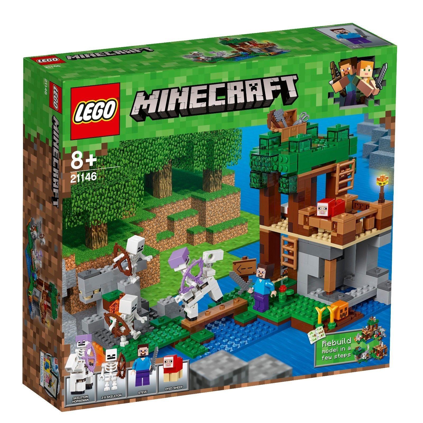 LEGO® Minecraft™ - 21146 Die Skelette kommen + NEU & OVP + passt zu 21118 21115