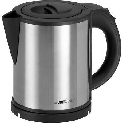 CLATRONIC 1 Liter 2200 W Wasserkocher Teekocher Heißwasserbereiter Wasser-Kocher