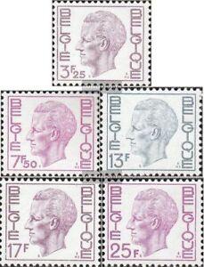 Belgien-1802x-1806y-kompl-Ausg-postfrisch-1975-Koenig-Baudouin
