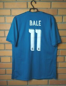 a84d23d5a Real Madrid  11 Bale 2017-2018 Third jersey Adidas Adizero player ...
