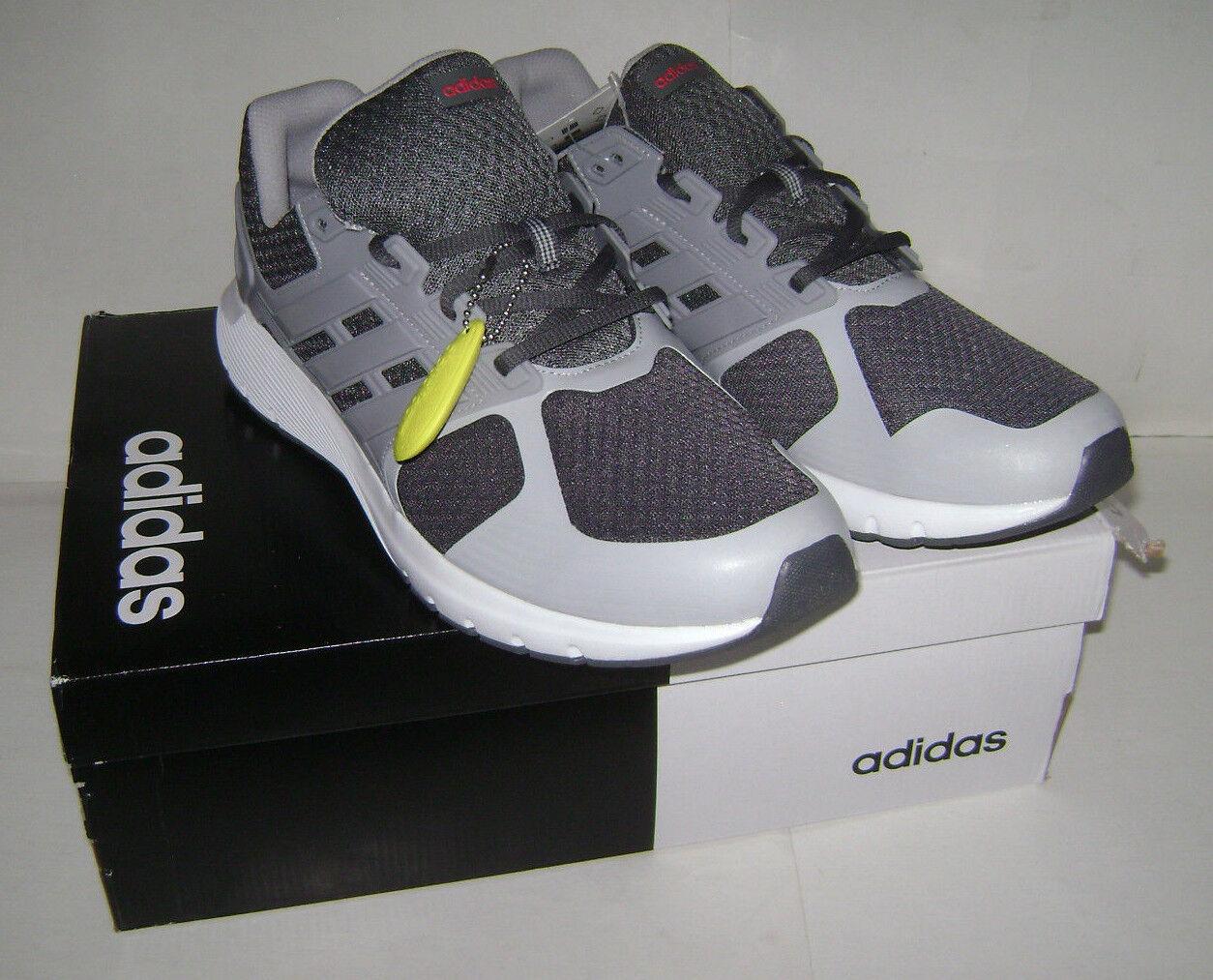 NIB adidas cloudfoam Men duramo 8 m Running Sneakers Shoes Sz 10 Gray CP8741