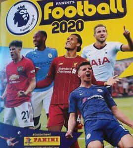 PANINI-FOOTBALL-2020-Premier-League-Autocollant-Collection-numeros-225-404