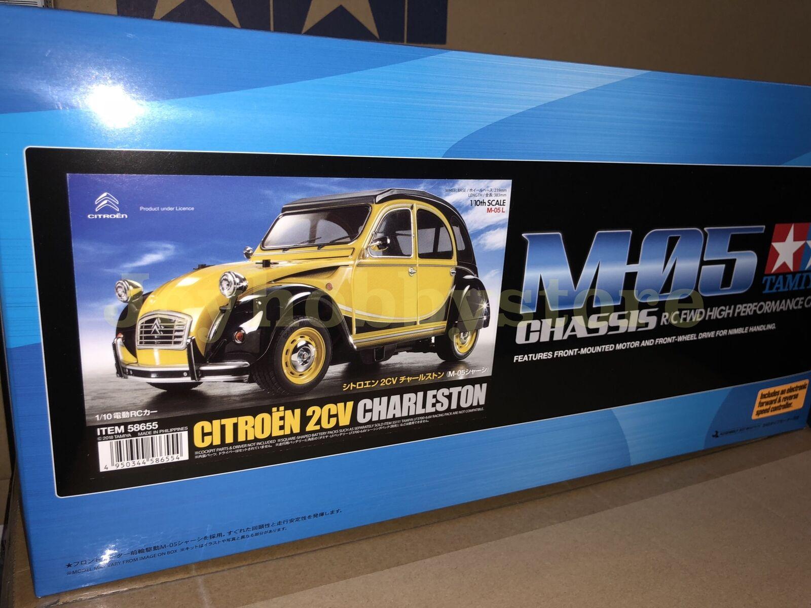 Tamiya 58655 1 10 RC Citroen 2CV Charleston - M05 On Road Kit
