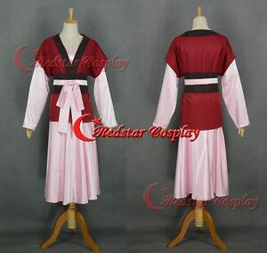 Yona of the Dawn Yona Dress Cosplay Costume Akatsuki no Yona