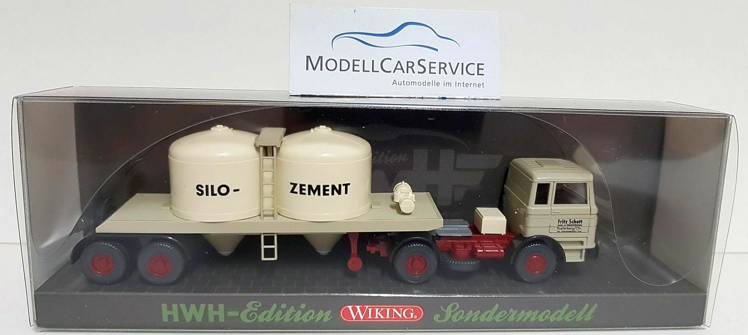 Special Viking Model 1 87   Mercedes-Benz Lps 1620   Fritz Schott - Silo Cement