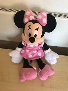 DISNEY Store Exclusive grandi Minnie Mouse Peluche 19 pollici A Pois Vestito