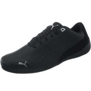 puma drift cat 7 men's lowtop sneakers black smooth