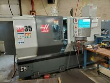 2016 Haas St 35 Cnc Turning Center 4 Bar 15 Chuck Only 500 Cutting Hours