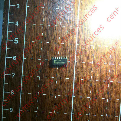 10 PCS 74HC74A SOP-14 Dual D-type flip-flop with set and reset