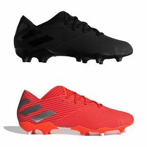 Adidas-nemeziz-19-2-Firm-Ground-FG-Chaussures-De-Football-Hommes-Soccer-Crampons-Chaussures