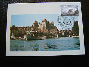 FRANCE-carte-1er-jour-28-5-1977-annecy-cy39-french