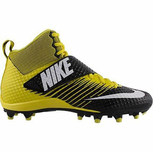 92b781f8d Nike Lunarbeast Pro TD Football Cleats 833421-710 Yellow White Black Sz 12  for sale online