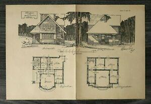GFA-Blatt-Wohnhaus-f-2-Familien-1926-Architektur-Werner-Issel-Hausansicht