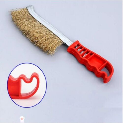 Wire Brush Brass Rust Cleaning Paint Remover Welding Scratch Brushes Hot Sale