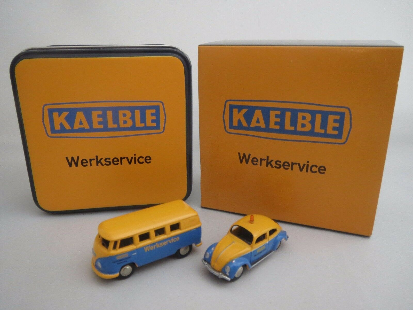 Bouèbe 06905 VW Beetle & VW Bus (Kaelble-werkstadtservice) 1 87 Neuf dans sa boîte
