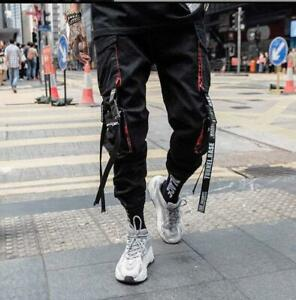 Men-Work-Tactical-Cargo-Pants-With-Pocket-Buckle-Straps-Techwear-Trousers-Zsell