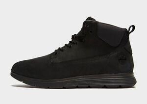 Timberland-Killington-Chukka-Boots-Shoes-Black-Nubuck-Size-UK-7-5-EUR-41-5-BNWB