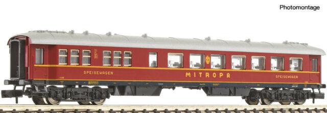 Fleischmann 863302 Spur N Schnellzug-Speisewagen MITROPA DRG  Neuware in OVP
