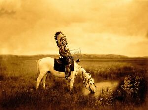 Edward-Curtis-An-Oasis-in-the-Badlands-Giclee-Fine-Art-Print-Open-Edition-Repro