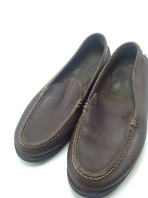 MENS ROCKPORT ADIPRENE By Adidas Brown Leather Slip on